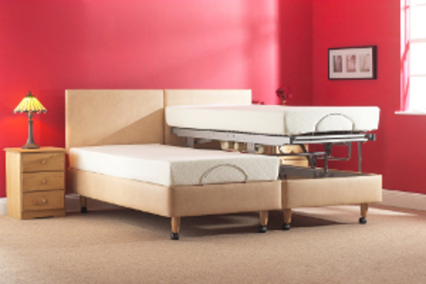 Helston Vertical lift Carers Bed